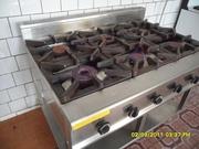 газовая промышленная шестикомфорочная плита