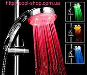 Светодиодный душ,  необычная вещь,  светодиодная насадка для душа,  индик
