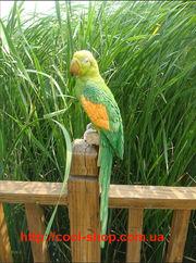 Оригинальное украшение для сада,  статуэтка экзотического попугая,  попу
