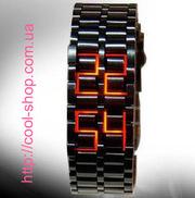 Светодиодные часы,  Led – часы,  подарок для друга,  коллеге,  стильные ча