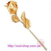 Подарок для девушки,  оригинальный подарок Золотая роза,  подарок на 8 м
