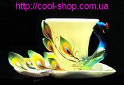 Чашка жар-птица,  красивая и оригинальная чашка,  изысканный подарок,  уд