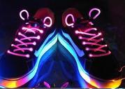 Светодиодные шнурки,  оригинальный подарок светодиодные шнурки,  креатив