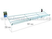 D 638b tw Полка для обуви наклонная (997мм) - 06