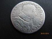 Итальянская монета 1635 года