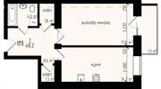 1 кімнатна,  простора новобудова на проспекті-Незалежності