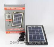 Солнечная панель Solar board 3W-9V+torch charger