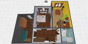 Продається 2-х кімнатна новобудова з документами в центральній частині